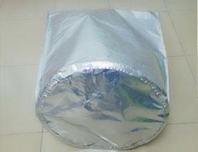 圆底胶水铝箔袋